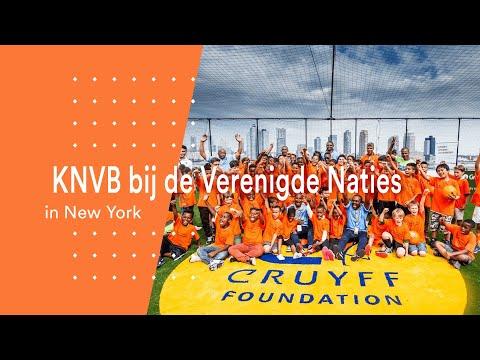 KNVB bij de Verenigde Naties in New York