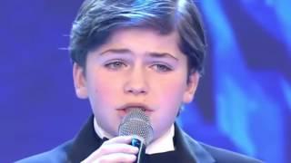 Cantante Lírico de 12 años, emocionó todos con su voz. Impresionante Showmatch 26/08/2016