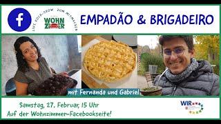 Live Kochshow: Brasilianischen Nachmittag