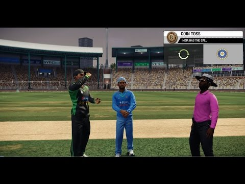 Don Bradman Cricket 14 - India v Pakistan 10 over match Veteran difficulty