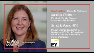 Return to Workplace | Jessica Wollmuth, Principal, EY