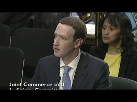 Mark Zuckerberg Testifies To US Senate Committees About Facebook