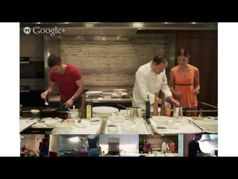 Cook-Along Hangout at the Grand Hyatt Singapore
