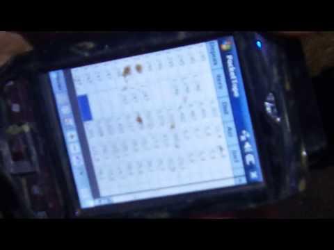 Topographie en rivière avec DistoX et PocketTopo sur PDA