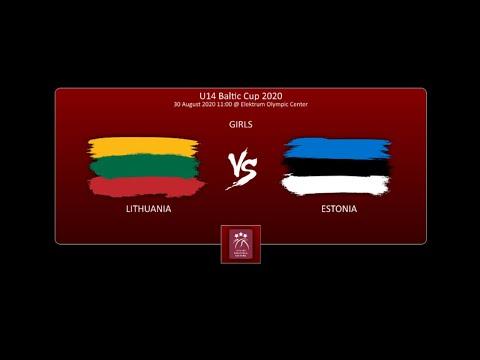 U14 Baltic Cup - Girls - Lithuania - Estonia