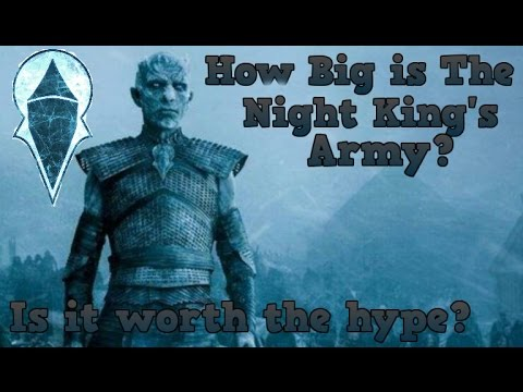 Game of Thrones Season 7 | How Big is the Night King's Army?