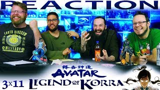 Legend of Korra 3x11 REACTION!!