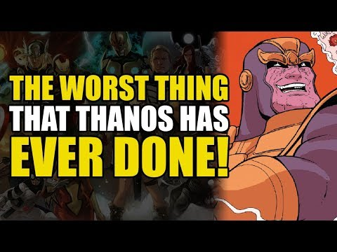 The Worst Thing Thanos Has Ever Done (Thanos Legacy Annual#1)