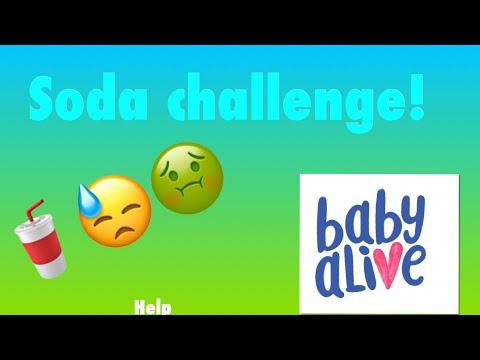 Baby Alive Darby, Athena, Edoras And Savannah Do The Soda Challenge!