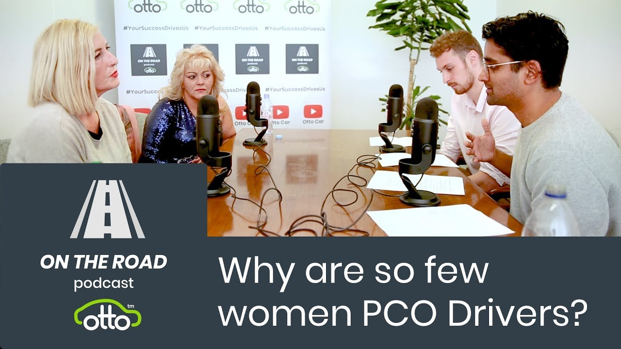On The Road 🎙️ Why are so few women PCO Drivers