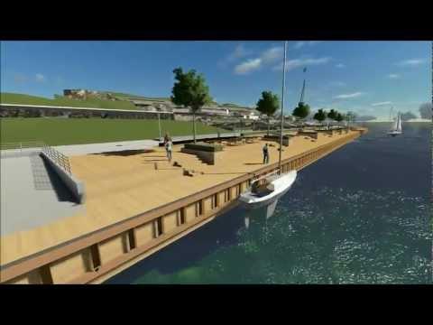 Lumion - Revit Landscape - Waterfront