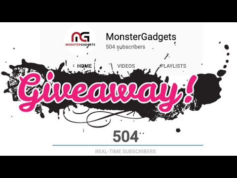 500 Subscribers Giveaway (Open Until April 28th 2019) $100 Amazon Gift Card