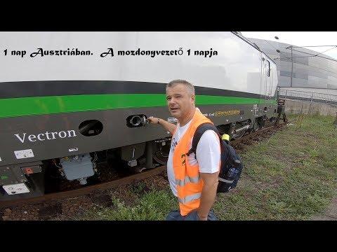 A mozdonyvezető egy napja. SIEMENS VECTRON 2019