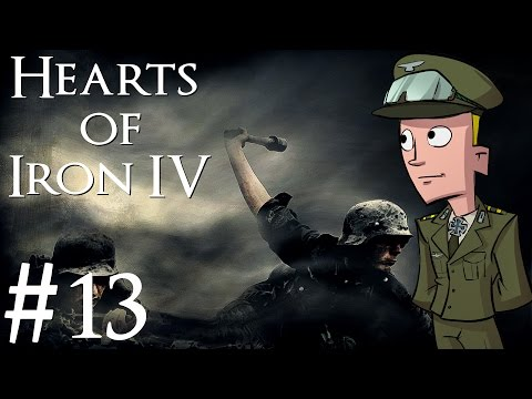 Hearts of Iron 4 | Germany | Part 13 | Luxembourg