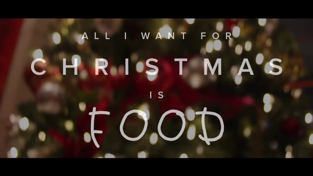 All I want for Christmas is food by doug the pug