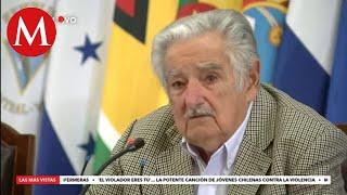 """José Mujica en el Encuentro Latinoamericano """"México ante los extremismos"""""""