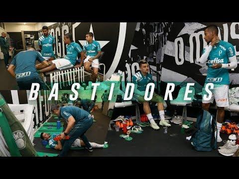 BOTAFOGO 1 X 1 PALMEIRAS - BASTIDORES - BRASILEIRO 2018