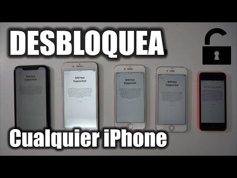 Como Desbloquear iPhone Y Liberar De Cualquier Compañia