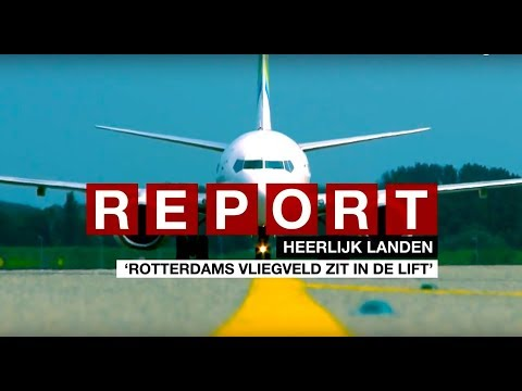 Report City Media Rotterdam | RTH airport