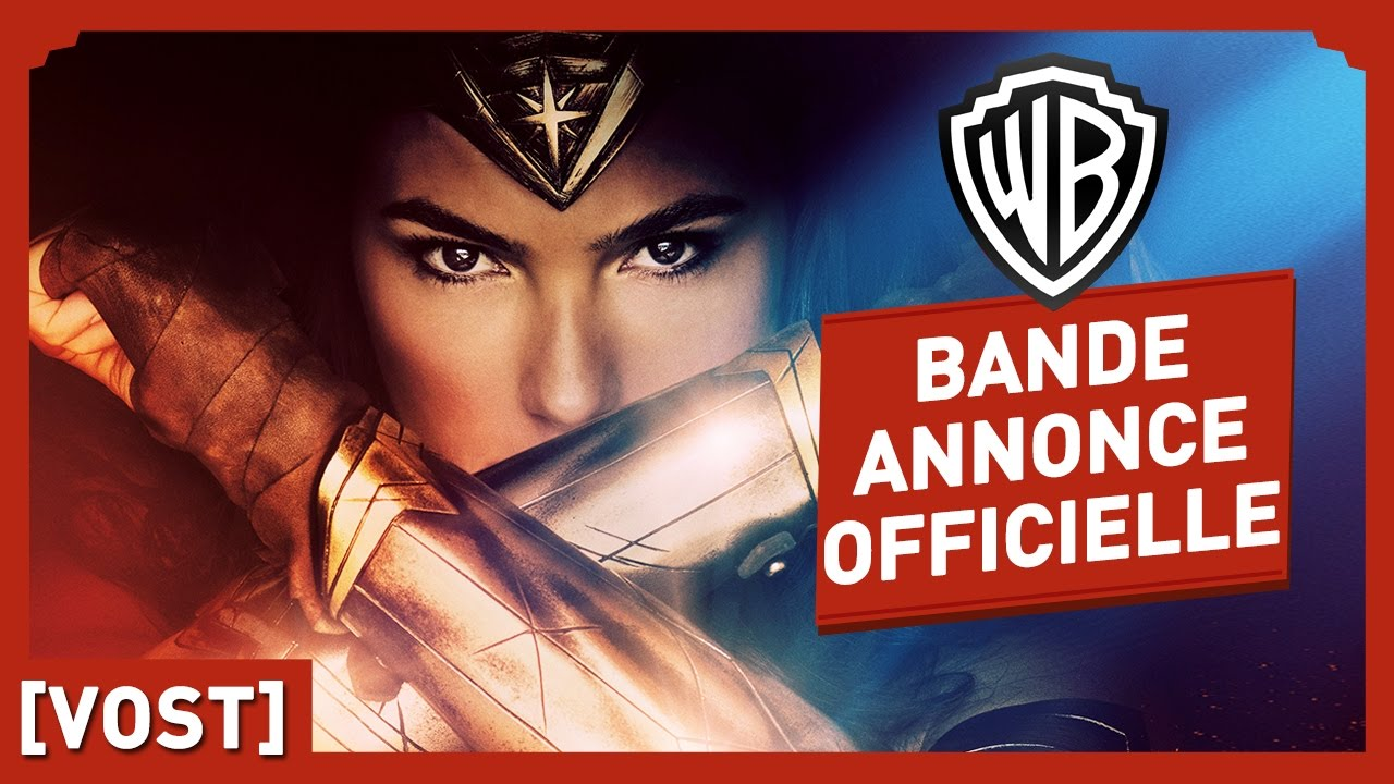 Wonder Woman - Bande Annonce Officielle Origine (VOST) - Gal Gadot
