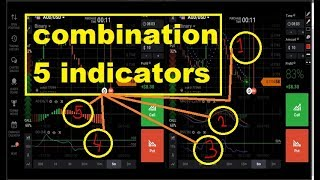 WOW AMAZING - a combination of 5 indicators - works 99% - iq option strategy