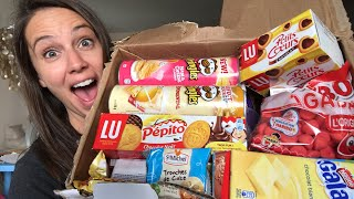 I Try French Snack Foods!