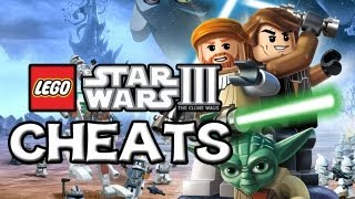 LEGO Star Wars 3 - The Clone Wars - CHEATS (HD)