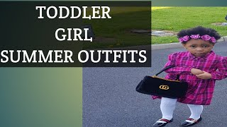 TODDLER GIRL SUMMER OUTFITS HAUL|