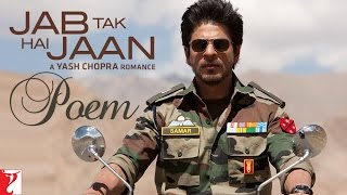 Download lagu Jab Tak Hai Jaan Poem with Opening Credits Shah Rukh Khan MP3