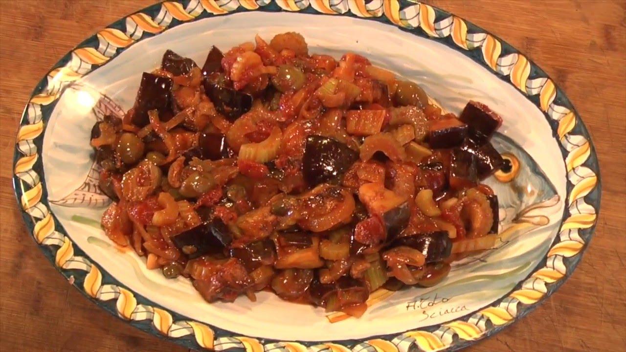 Caponata siciliana la ricetta tradizionale viyoutube for Casa tradizionale siciliana