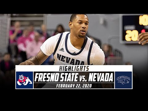 Fresno State Vs. Nevada Basketball Highlights (2019-20) | Stadium