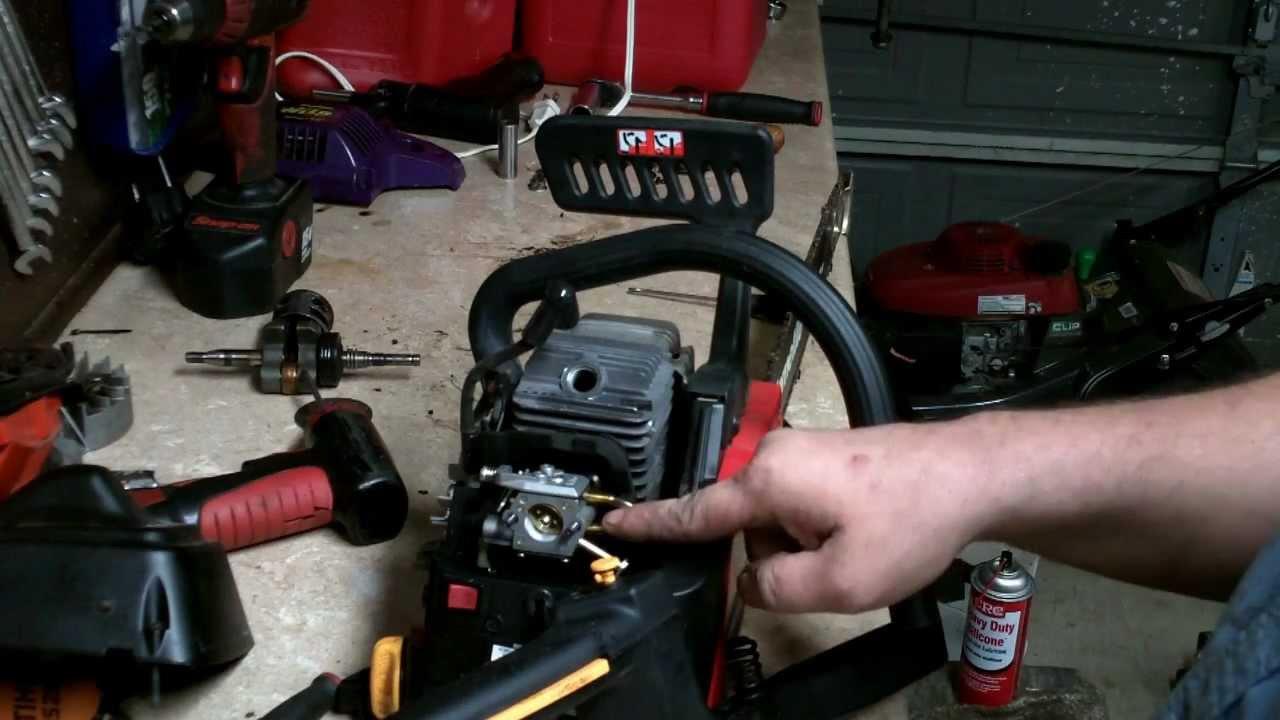 2 Cycle Engine Parts Diagram Homelite Chainsaw Repair How To Rebuild The Carburetor