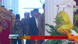 Jokowi dan JK Gelar Open House di Istana Negara