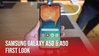 Samsung Galaxy A50 & A30 | First Look