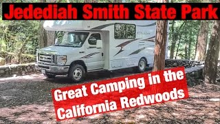 Jedediah Smith Sate Park - Great Camping in the California Redwoods