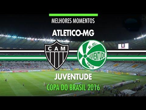 Melhores Momentos - Atlético-MG 1 x 0 Juventude - Copa do Brasil - 28/09/2016
