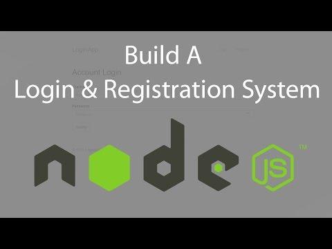 Node.js Login System With Passport - Part 1
