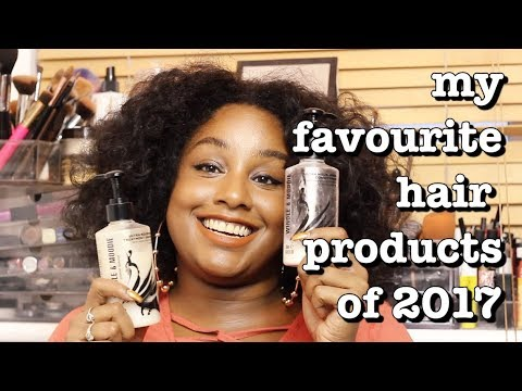 MY FAVOURITE NATURAL HAIR PRODUCTS OF 2017