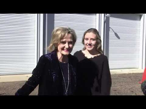 Cindy Hyde-Smith casts vote in MS Senate race