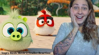 THE ANGRY BIRDS MOVIE 2 Official Teaser Trailer REACTION!