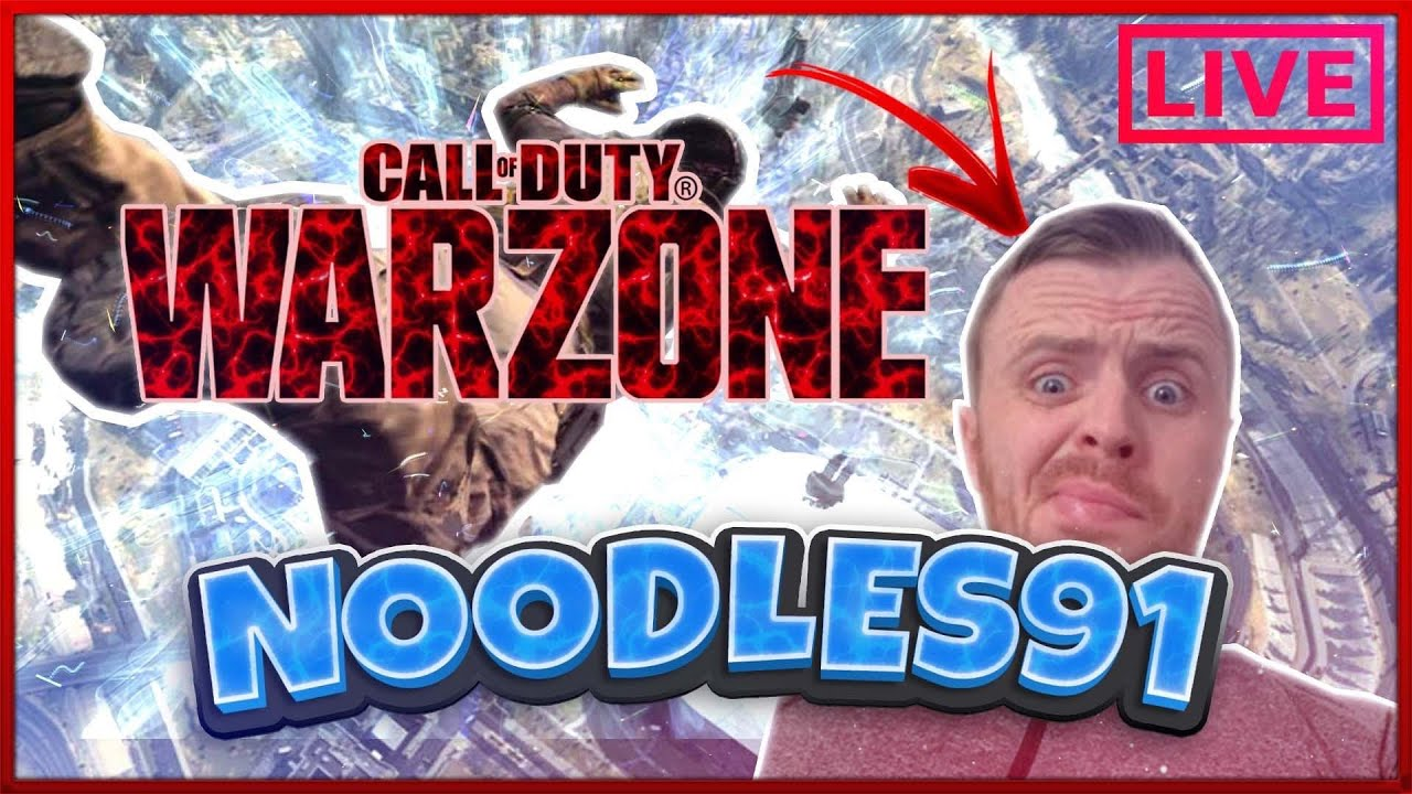 NOODLES 91 ON WARZONE LIVE // ANGER AND ROTTEN GAMEPLAY // SHEER ENTERTAINMENT //