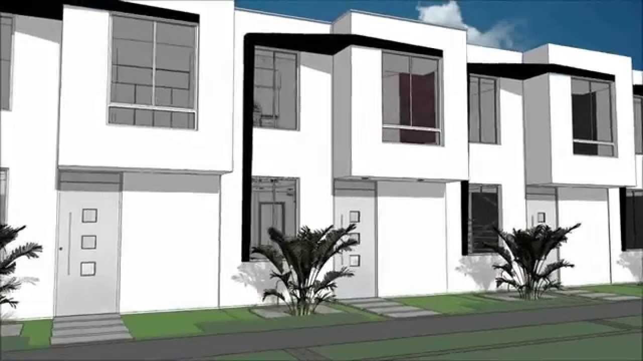 Planos casa moderna de 2 pisos 500 m x 1100 m 7869 m 3 for Casa moderna 1 11 2