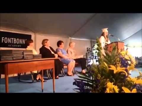 Fontbonne Academy graduation