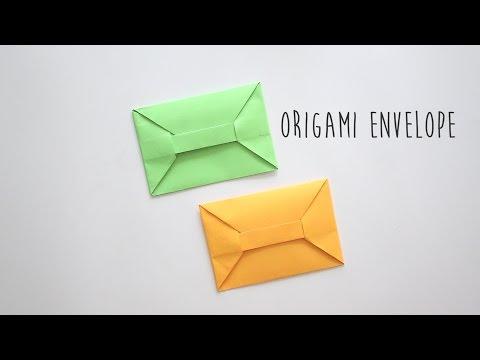 Origami Envelope (A4 Sheet)