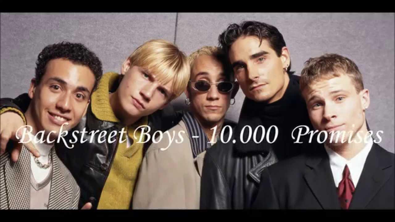 Backstreet Boys - 10 000 Promises Lyrics - YouTube