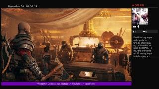 Cory Barlog I LOVE YOUR MASTERPIECE God of War Lets Play 6 German Livestream PS4 PRO