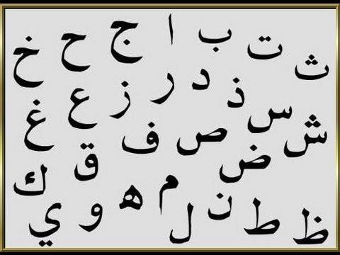 arabische buchstaben a-z