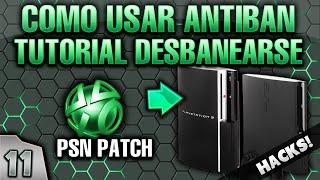 11- GUIA PS3 PIRATA: COMO PONER Y USAR EL PSN PATCH ANTIBAN - EVITAR QUE TE BANEEN EN PS3 DEX/CEX