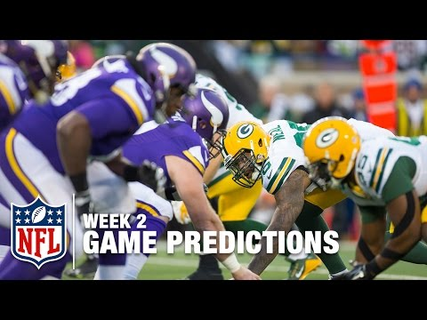 Week 2 Game Picks in 60 Seconds | NFL Now