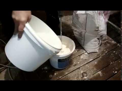 видео: ДЕЛАЕМ ДЕКОРАТИВНЫЙ ПОТОЛОК (часть 1)